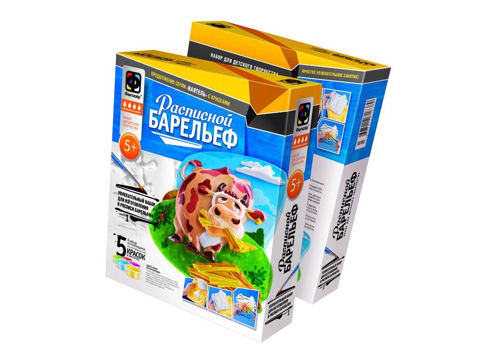 Барельеф «Рогатый обжора»Расписные барельефы<br><br><br>Артикул: 987001<br>Размер упаковки: 25,5x20x4,5 см<br>Возраст: от 5 лет