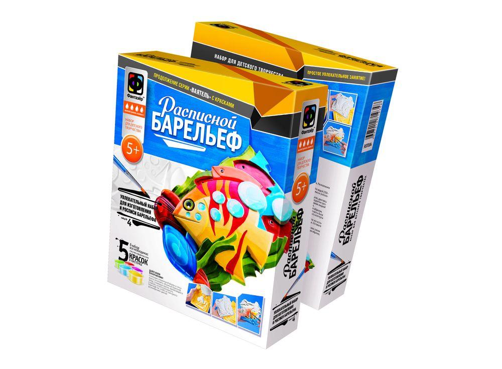 Барельеф «Морские тропики»Расписные барельефы<br><br><br>Артикул: 987004<br>Размер упаковки: 25,5x20x4,5 см<br>Возраст: от 5 лет