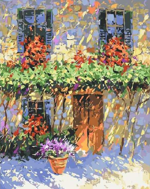 Картина по номерам «Летний полдень»Раскраски по номерам Paintboy (Original)<br><br>