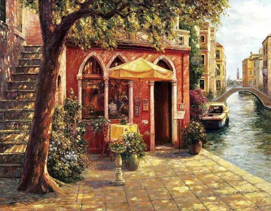 «Лето в Венеции»Раскраски по номерам Paintboy (Original)<br><br><br>Артикул: GX3237_R<br>Основа: Холст<br>Сложность: средние<br>Размер: 40x50 см<br>Количество цветов: 27<br>Техника рисования: Без смешивания красок