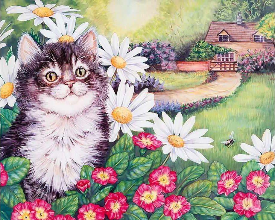 «Цветочное настроение»Раскраски по номерам Paintboy (Original)<br><br><br>Артикул: GX3244_R<br>Основа: Холст<br>Сложность: средние<br>Размер: 40x50 см<br>Количество цветов: 27<br>Техника рисовани: Без смешивани красок