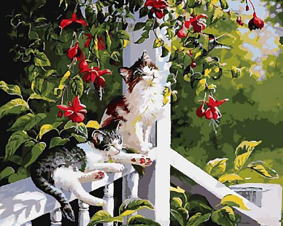 «Нега на солнце» Персис Клейтон ВейерсРаскраски по номерам Paintboy (Original)<br><br><br>Артикул: GX3245_R<br>Основа: Холст<br>Сложность: средние<br>Размер: 40x50 см<br>Количество цветов: 26<br>Техника рисовани: Без смешивани красок
