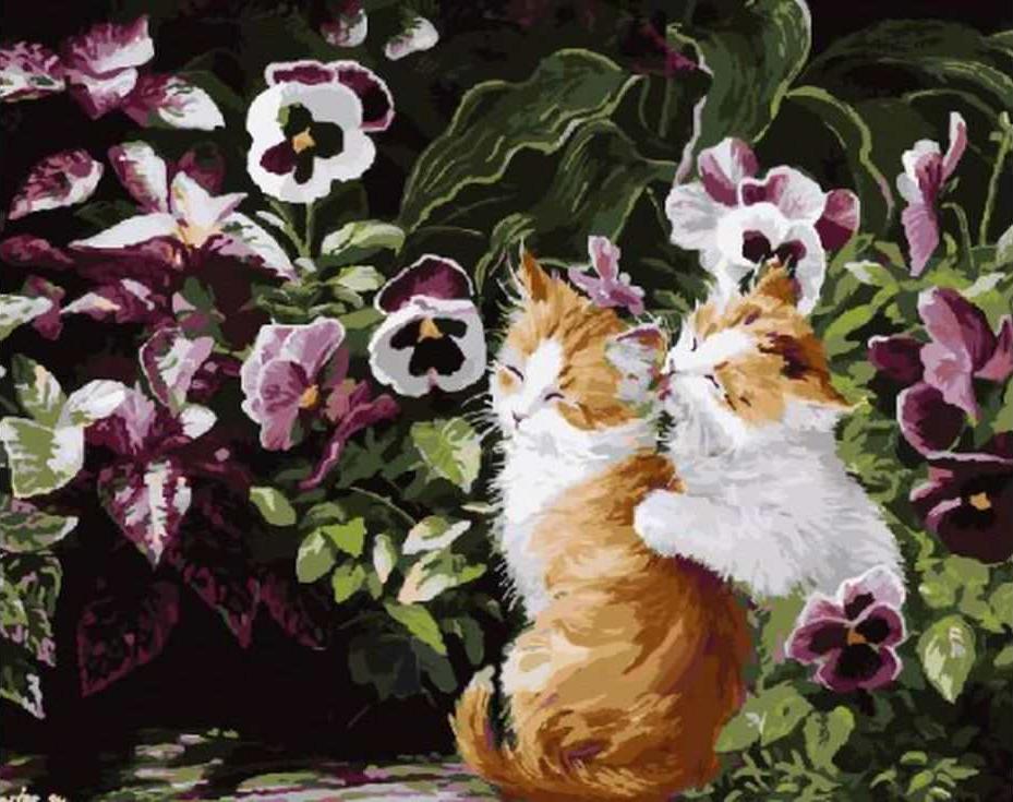 «Котта в саду» Персис Клейтон ВейерсРаскраски по номерам Paintboy (Original)<br><br><br>Артикул: GX3249_R<br>Основа: Холст<br>Сложность: средние<br>Размер: 40x50 см<br>Количество цветов: 26<br>Техника рисовани: Без смешивани красок