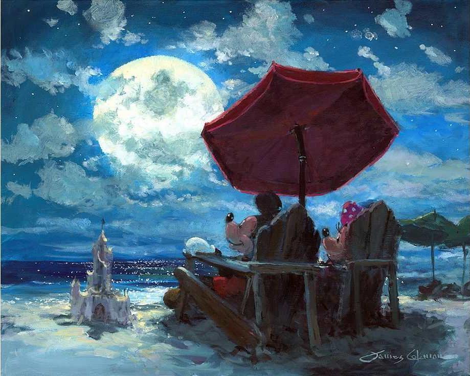 «Под лунным небом» Джеймса КоулманаРаскраски по номерам Paintboy (Original)<br><br><br>Артикул: GX3324_R<br>Основа: Холст<br>Сложность: сложные<br>Размер: 40x50 см<br>Количество цветов: 28<br>Техника рисовани: Без смешивани красок