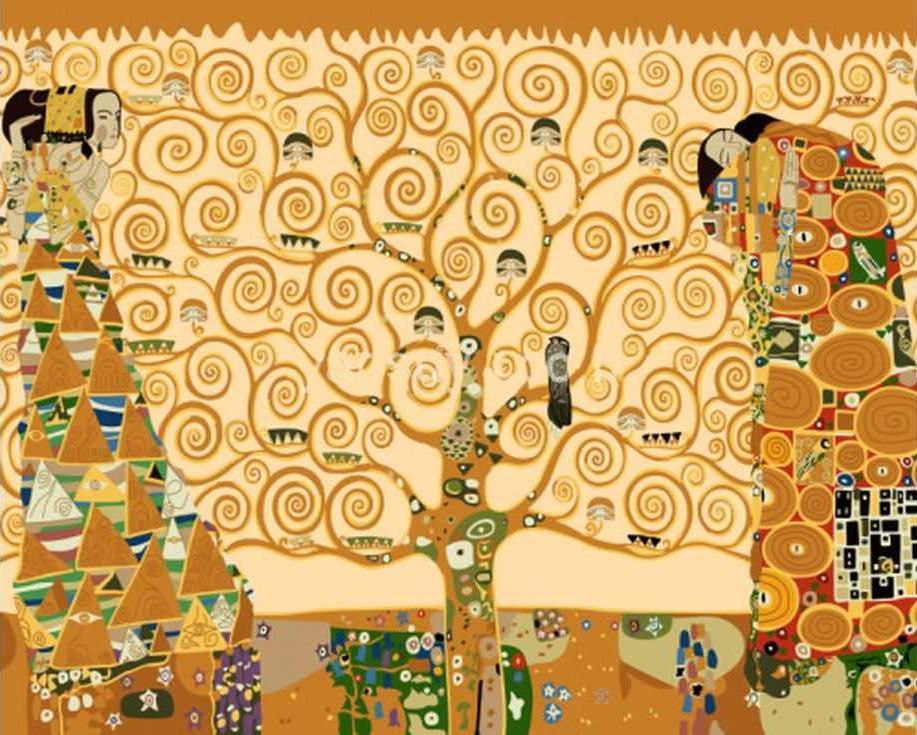 «Древо жизни» Густава КлимтаРаскраски по номерам Paintboy (Original)<br><br><br>Артикул: GX6959_R<br>Основа: Холст<br>Сложность: средние<br>Размер: 40x50 см<br>Количество цветов: 26<br>Техника рисования: Без смешивания красок