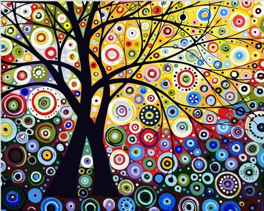 Купить Картина по номерам «Райский сад», Paintboy (Original)