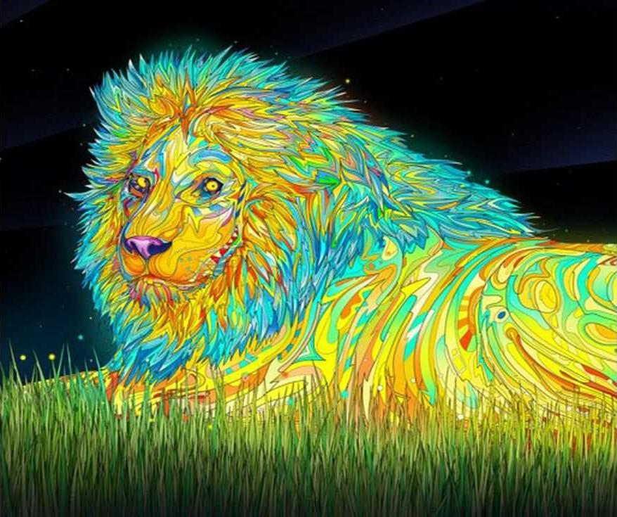 Картина по номерам «Сказочный лев»Раскраски по номерам Paintboy (Original)<br><br><br>Артикул: GX7105_R<br>Основа: Холст<br>Сложность: средние<br>Размер: 40x50 см<br>Количество цветов: 23<br>Техника рисования: Без смешивания красок