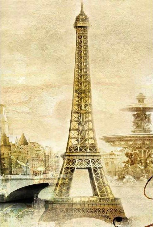 «Париж в стиле ретро 1»Paintboy (Premium)<br><br><br>Артикул: GX7867<br>Основа: Холст<br>Сложность: средние<br>Размер: 40x50 см<br>Количество цветов: 20<br>Техника рисования: Без смешивания красок