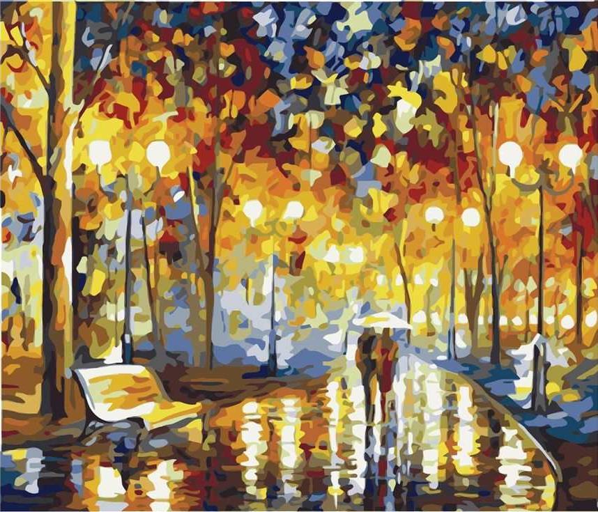«Вечерняя прогулка»Раскраски по номерам Paintboy (Original)<br><br><br>Артикул: GX7996_R<br>Основа: Холст<br>Сложность: сложные<br>Размер: 40x50 см<br>Количество цветов: 28<br>Техника рисования: Без смешивания красок