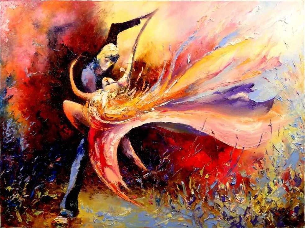 «Страстный танец»Раскраски по номерам Paintboy (Original)<br><br><br>Артикул: GX8264_R<br>Основа: Холст<br>Сложность: средние<br>Размер: 40x50 см<br>Количество цветов: 27<br>Техника рисования: Без смешивания красок