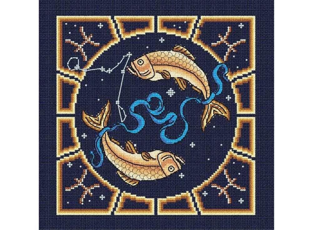 Набор для вышивания «Рыбы»Вышивка смешанной техникой МП-студия<br><br><br>Артикул: БК-003<br>Основа: канва Aida 14<br>Размер: 20х20 см<br>Техника вышивки: счетный крест+бисер<br>Тип схемы вышивки: Цветная схема<br>Цвет канвы: Синий<br>Количество цветов: Мулине: 10 цветов, бисер: 3 цвета<br>Заполнение: Частичное<br>Рисунок на канве: не нанесён<br>Техника: Смешанная техника