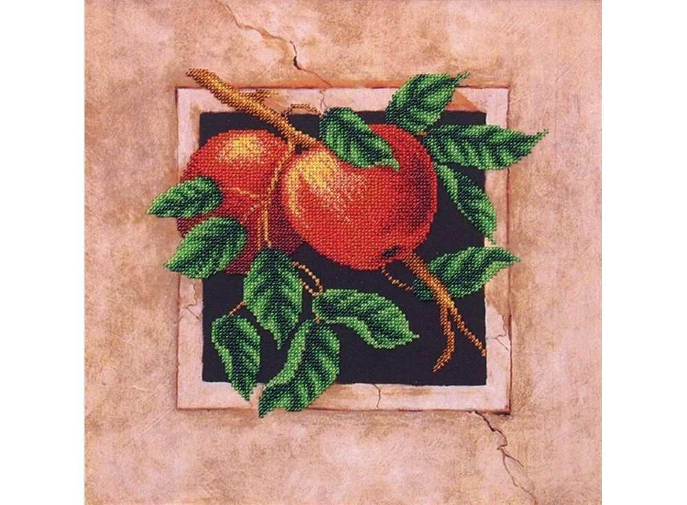 Набор вышивки бисером «Наш сад. Яблоки»Вышивка бисером<br><br>
