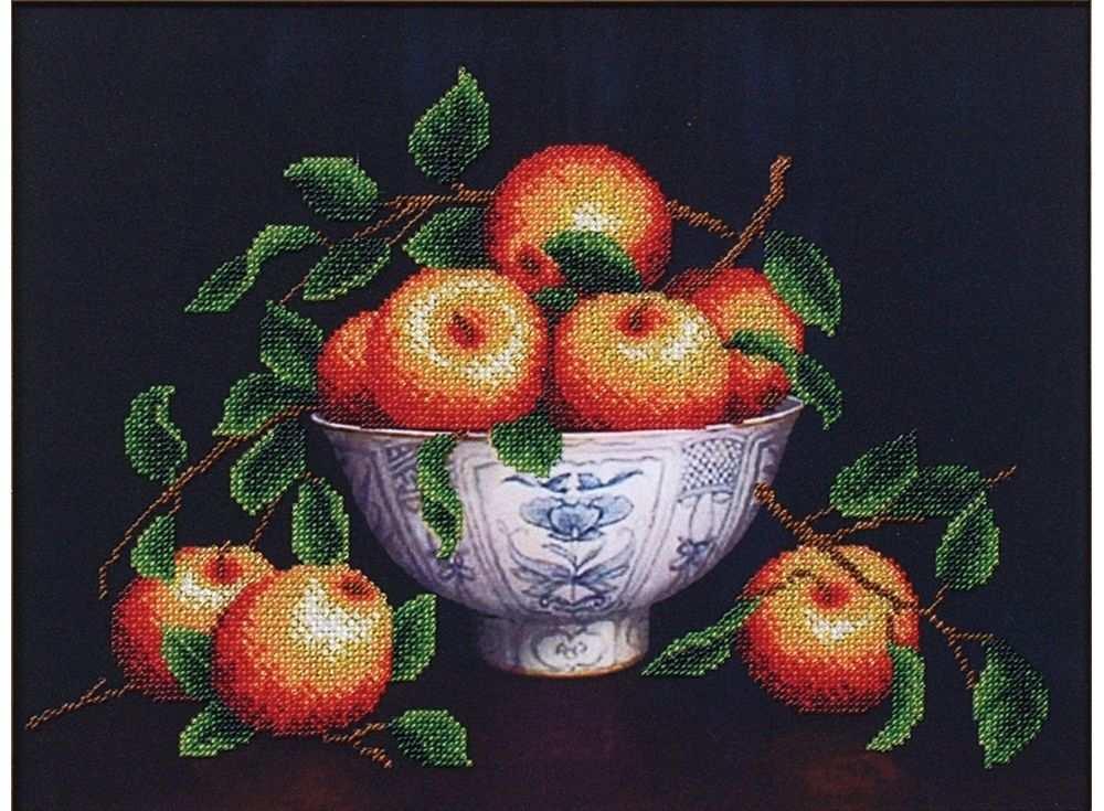 Набор вышивки бисером «Вкус лета. Яблоки»Вышивка бисером Магия канвы<br><br><br>Артикул: Б-058<br>Основа: ткань<br>Размер: 34х25,5 см<br>Техника вышивки: бисер<br>Тип схемы вышивки: Цветная схема<br>Заполнение: Частичное<br>Рисунок на канве: нанесён рисунок<br>Техника: Вышивка бисером
