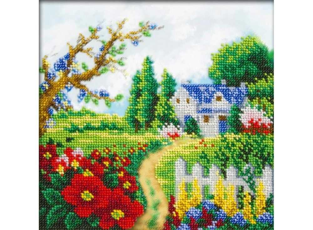 Набор вышивки бисером «Весенний пейзаж»Вышивка бисером Паутинка<br><br>