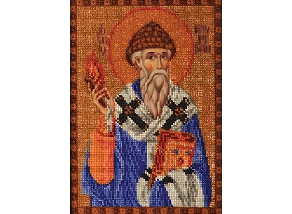 Вышивка бисером Набор вышивки бисером «Святой Спиридон Тримифунтский» фото