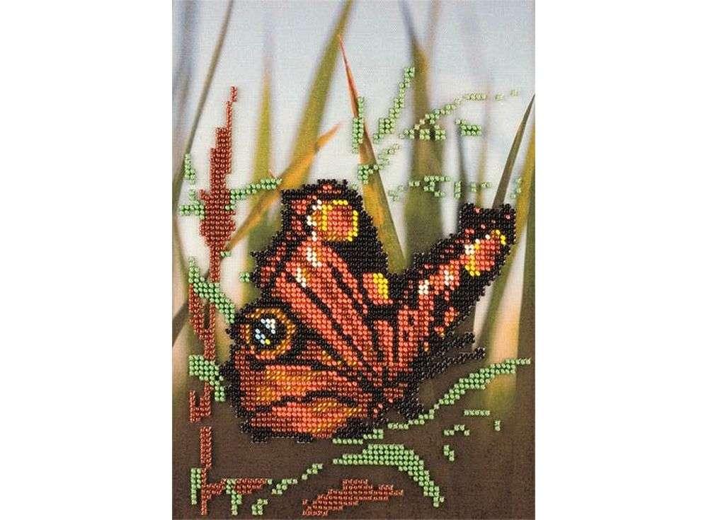 Набор вышивки бисером «В тростнике»Вышивка бисером Кроше (Радуга бисера)<br><br><br>Артикул: В-207<br>Основа: ткань<br>Размер: 16x23 см<br>Техника вышивки: бисер<br>Тип схемы вышивки: Цветная схема<br>Заполнение: Частичное<br>Рисунок на канве: нанесён рисунок и схема<br>Техника: Вышивка бисером