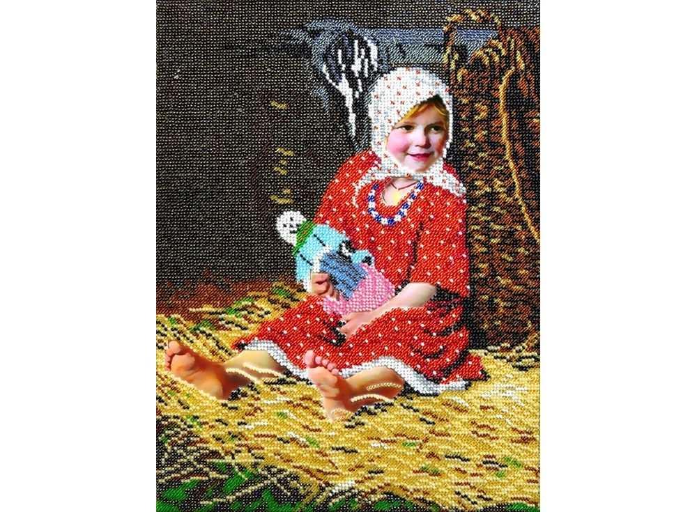 Набор вышивки бисером «Варварка» Кирилла ЛемохаВышивка бисером Вышиваем бисером<br><br><br>Артикул: В-40<br>Основа: ткань для вышивки бисером с нанесенной схемой<br>Размер: 25х34 см<br>Техника вышивки: бисер<br>Тип схемы вышивки: Цветная схема вышивки
