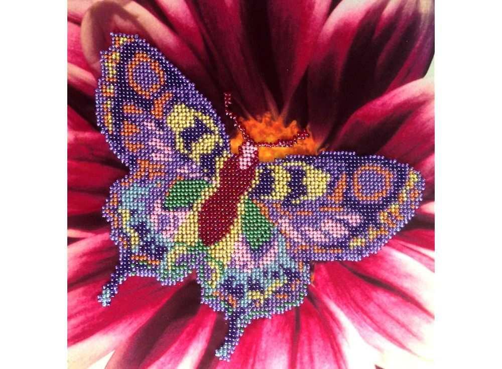 Набор вышивки бисером «Бабочка»Вышивка бисером<br><br>