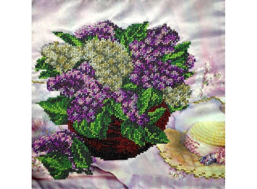 Набор вышивки бисером «Сиреневое настроение»