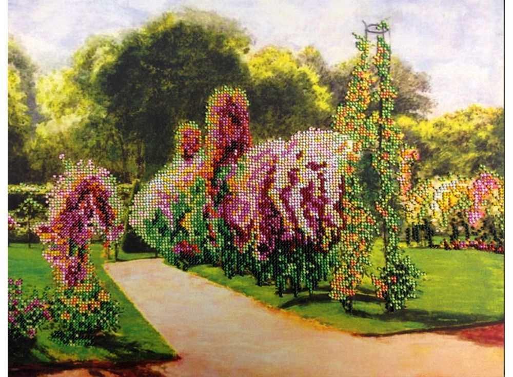 Набор вышивки бисером «Французский парк»Вышивка бисером<br><br>