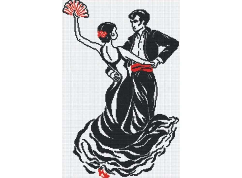 Набор для вышивания «Танец любви»Вышивка крестом МП-студия<br><br><br>Артикул: НВ-096<br>Основа: канва Aida 14<br>Размер: 34х51 см<br>Техника вышивки: счетный крест<br>Тип схемы вышивки: Цветная схема<br>Цвет канвы: Белый<br>Количество цветов: 2<br>Рисунок на канве: не нанесён<br>Техника: Вышивка крестом