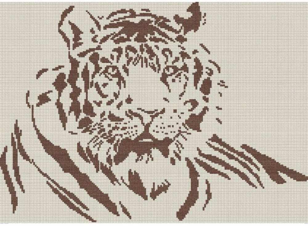 Набор для вышивания «Тигр»Вышивка крестом МП-студия<br><br><br>Артикул: НВ-124<br>Основа: канва Aida 16<br>Размер: 31x43 см<br>Техника вышивки: счетный крест<br>Тип схемы вышивки: Цветная схема<br>Цвет канвы: Льняной<br>Количество цветов: 1<br>Рисунок на канве: не нанесён<br>Техника: Вышивка крестом