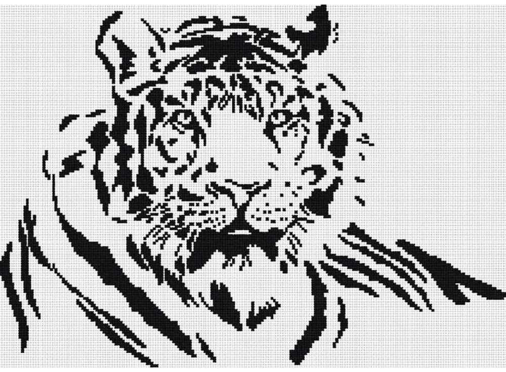 Набор для вышивания «Тигр»Вышивка крестом МП-студия<br><br><br>Артикул: НВ-125<br>Основа: канва Aida 14<br>Размер: 31х43 см<br>Техника вышивки: счетный крест<br>Тип схемы вышивки: Цветная схема<br>Цвет канвы: Белый<br>Количество цветов: 1<br>Рисунок на канве: не нанесён<br>Техника: Вышивка крестом