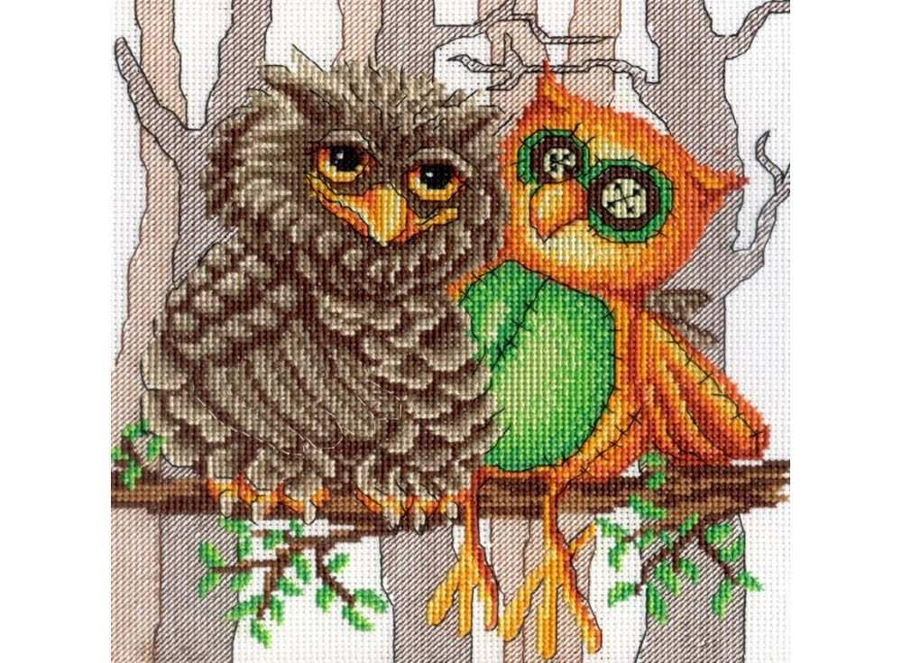 Набор для вышивания «Друг совы»Вышивка крестом МП-студия<br><br><br>Артикул: НВ-365<br>Основа: канва Aida 14<br>Размер: 21x19 см<br>Техника вышивки: счетный крест<br>Тип схемы вышивки: Цветная схема<br>Цвет канвы: Белый<br>Количество цветов: 15<br>Рисунок на канве: не нанесён<br>Техника: Вышивка крестом