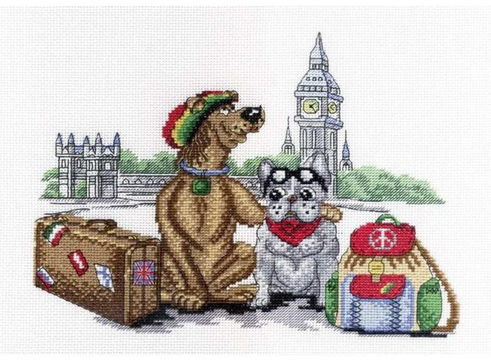 Набор для вышивания «В Лондоне»Вышивка крестом МП-студия<br><br><br>Артикул: НВ-366<br>Основа: канва Aida 14<br>Размер: 22х28 см<br>Техника вышивки: счетный крест<br>Тип схемы вышивки: Цветная схема<br>Цвет канвы: Белый<br>Количество цветов: 17<br>Рисунок на канве: не нанесён<br>Техника: Вышивка крестом