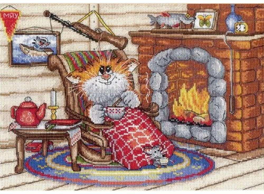 Набор для вышивания «Уютный вечер»Вышивка крестом МП-студия<br><br>
