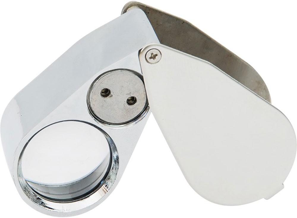 Оптический увеличитель (40х)Аксессуары для алмазной живописи<br>Универсальный оптический увеличитель для того, чтобы прочитать мелкий шрифт, увидеть малозаметные невооруженным глазом дефекты (царапины, повреждения) на каком-нибудь предмете, других ситуаций, когда необходимо увеличительное стекло. <br>LED-подсветка (свет...<br>