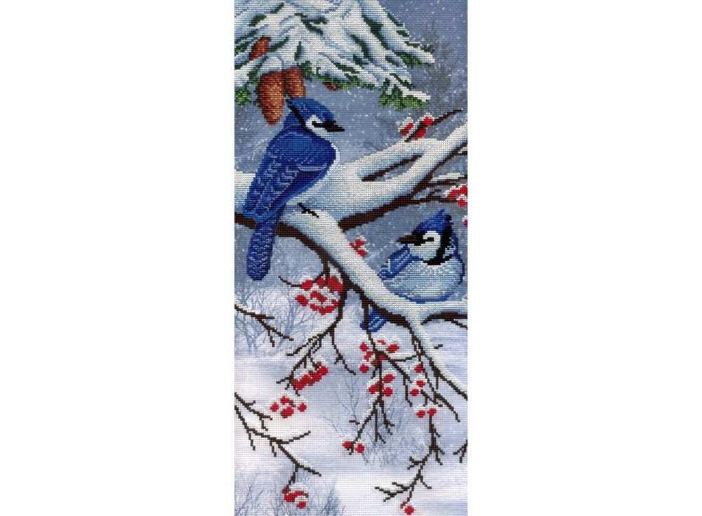 Набор для вышивания «Зима»Вышивка крестом МП-студия<br><br><br>Артикул: РК-331<br>Основа: канва Aida 14<br>Размер: 44х20 см<br>Техника вышивки: счетный крест<br>Тип схемы вышивки: Цветная схема<br>Количество цветов: 18<br>Рисунок на канве: тонированная канва с нанесённым фоном<br>Техника: Вышивка крестом