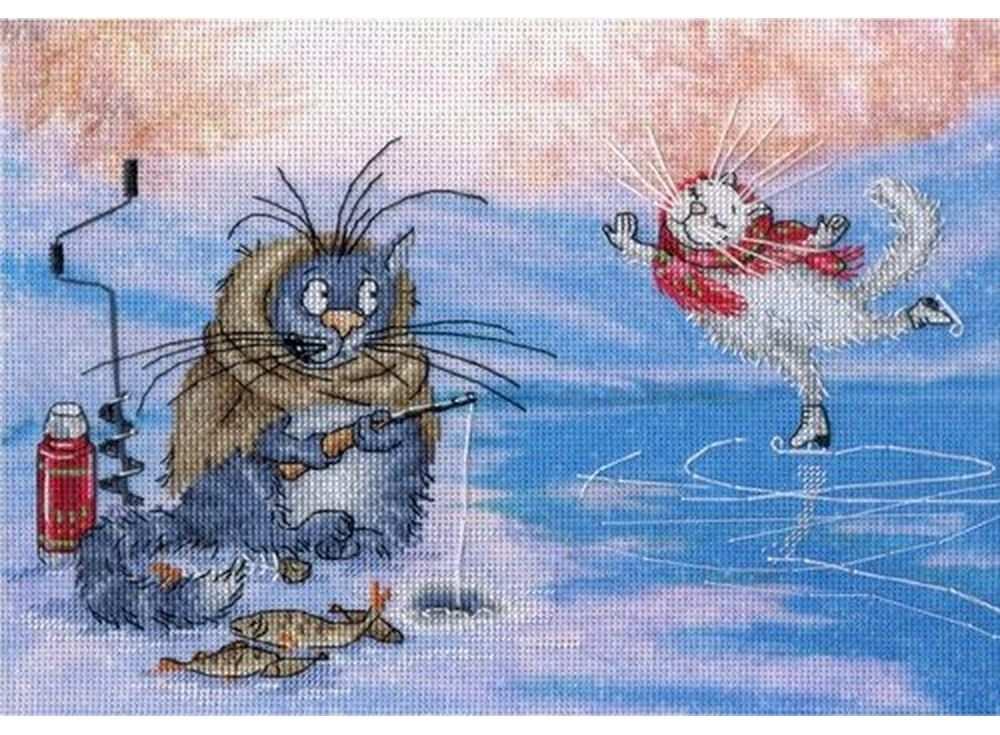 Набор для вышивания «Ах ты зимушка, зима»Вышивка крестом МП-студия<br><br><br>Артикул: РК-506<br>Основа: канва Aida 18<br>Размер: 16х23 см<br>Техника вышивки: счетный крест<br>Тип схемы вышивки: Цветная схема<br>Количество цветов: 22<br>Рисунок на канве: тонированная канва с нанесённым фоном<br>Техника: Вышивка крестом