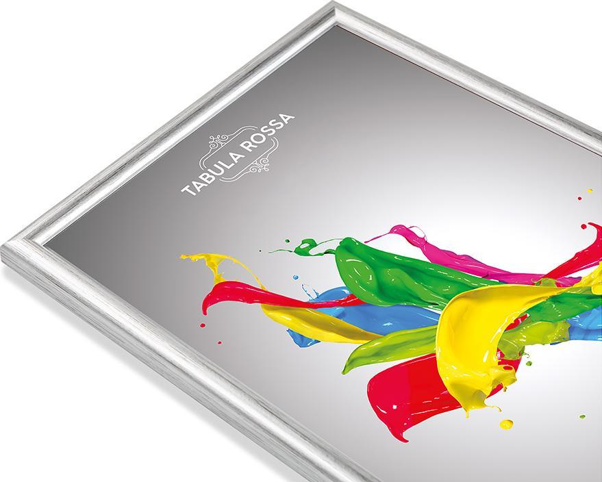 Рамка без стекла «Rossa»Багетные рамки<br><br><br>Артикул: ТР 5105 БС<br>Размер: 40x50 см<br>Цвет: Серебро<br>Материал багета: Дерево