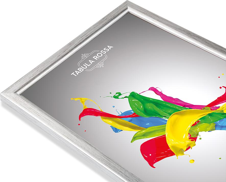 Рамка без стекла «Selena»Багетные рамки<br><br><br>Артикул: ТР 5252 БС<br>Размер: 18x24 см<br>Цвет: Серебро<br>Материал багета: Дерево