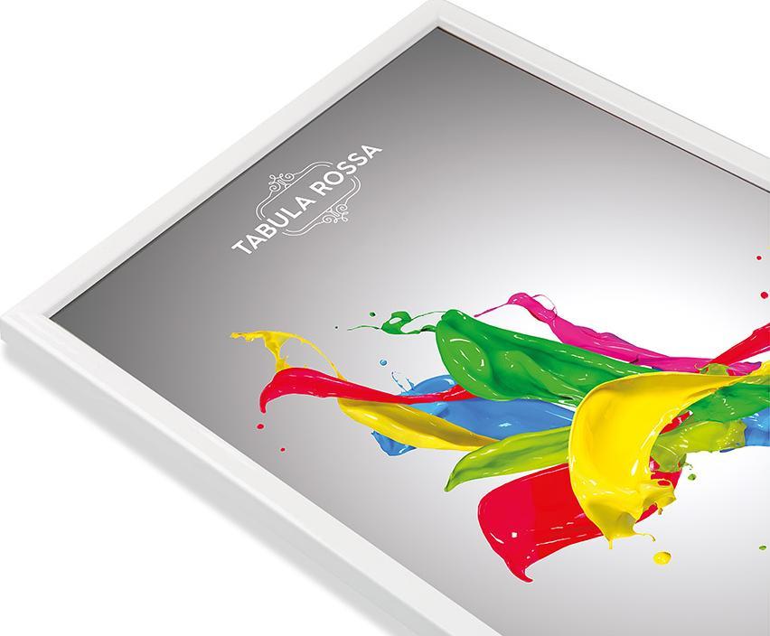 Рамка без стекла «Isabella»Багетные рамки<br><br><br>Артикул: ТР 5274 БС<br>Размер: 18x24<br>Цвет: Белый глянец<br>Материал багета: Дерево