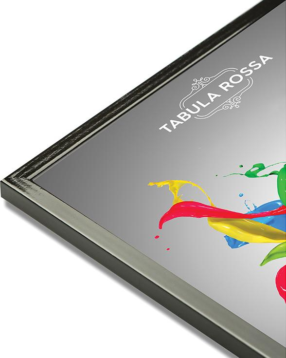 Рамка без стекла «Victoria»Багетные рамки<br><br><br>Артикул: ТР 5153 БС<br>Размер: 30x40 см<br>Цвет: Черный глянец<br>Материал багета: Дерево<br>Глубина багета: 8 мм