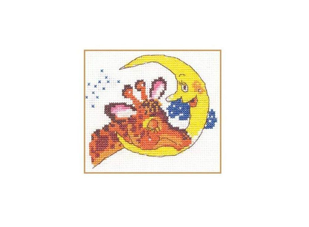 Набор для вышивания «Баю-бай»Вышивка крестом Алиса<br><br><br>Артикул: 0-06<br>Основа: канва Aida 14 100% хлопок Gamma<br>Размер: 11х9 см<br>Тип схемы вышивки: Цветная схема<br>Цвет канвы: Белый<br>Количество цветов: 9<br>Рисунок на канве: не нанесён<br>Техника: Вышивка крестом<br>Нитки: мулине 100% хлопок Gamma