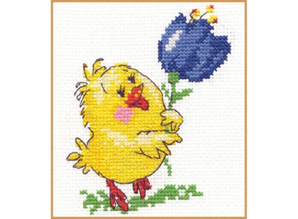 Набор для вышивания «Цыпа»Вышивка крестом Алиса<br><br><br>Артикул: 0-07<br>Основа: канва Aida 14 100% хлопок Gamma<br>Размер: 9х11 см<br>Тип схемы вышивки: Цветная схема<br>Цвет канвы: Белый<br>Количество цветов: 10<br>Рисунок на канве: не нанесён<br>Нитки: мулине 100% хлопок Gamma