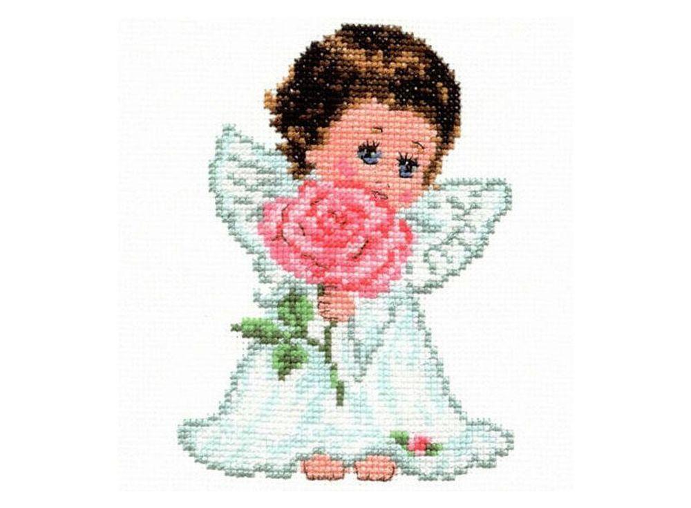 Набор дл вышивани «Ангелок лбви»Вышивка крестом Алиса<br><br><br>Артикул: 0-13<br>Основа: канва Aida 14 100% хлопок Gamma<br>Размер: 10х14 см<br>Тип схемы вышивки: Цветна схема<br>Цвет канвы: Белый<br>Количество цветов: 14<br>Рисунок на канве: не нанесён<br>Нитки: мулине 100% хлопок Gamma