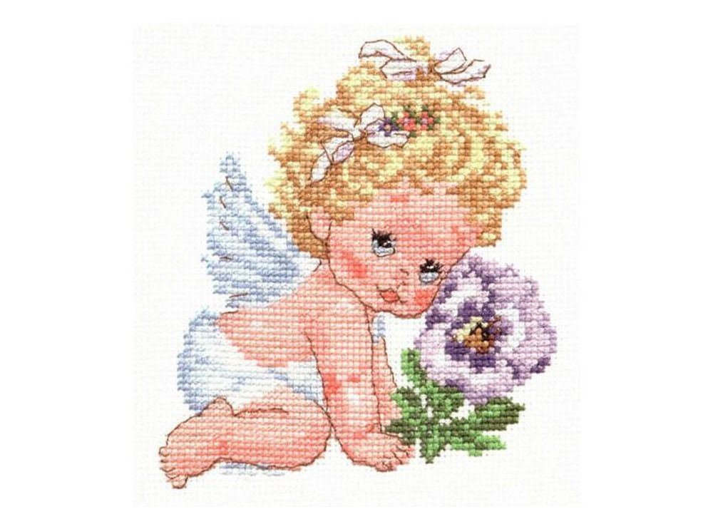 Набор для вышивания «Ангелок счастья»Вышивка крестом Алиса<br><br><br>Артикул: 0-14<br>Основа: канва Aida 14 100% хлопок Gamma<br>Размер: 12х14 см<br>Тип схемы вышивки: Цветная схема<br>Цвет канвы: Белый<br>Количество цветов: 16<br>Рисунок на канве: не нанесён<br>Техника: Вышивка крестом<br>Нитки: мулине 100% хлопок Gamma