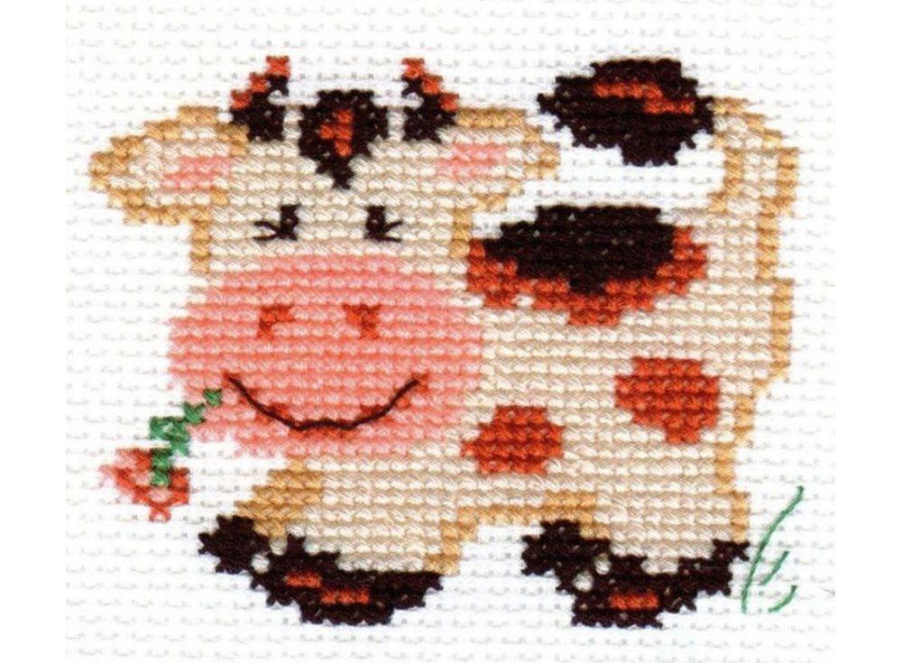 Набор для вышивания «Пятнышко»Вышивка крестом Алиса<br><br><br>Артикул: 0-23<br>Основа: канва Aida 14 100% хлопок Gamma<br>Размер: 7х7 см<br>Тип схемы вышивки: Цветная схема<br>Цвет канвы: Белый<br>Количество цветов: 6<br>Рисунок на канве: не нанесён<br>Техника: Вышивка крестом<br>Нитки: мулине 100% хлопок Gamma