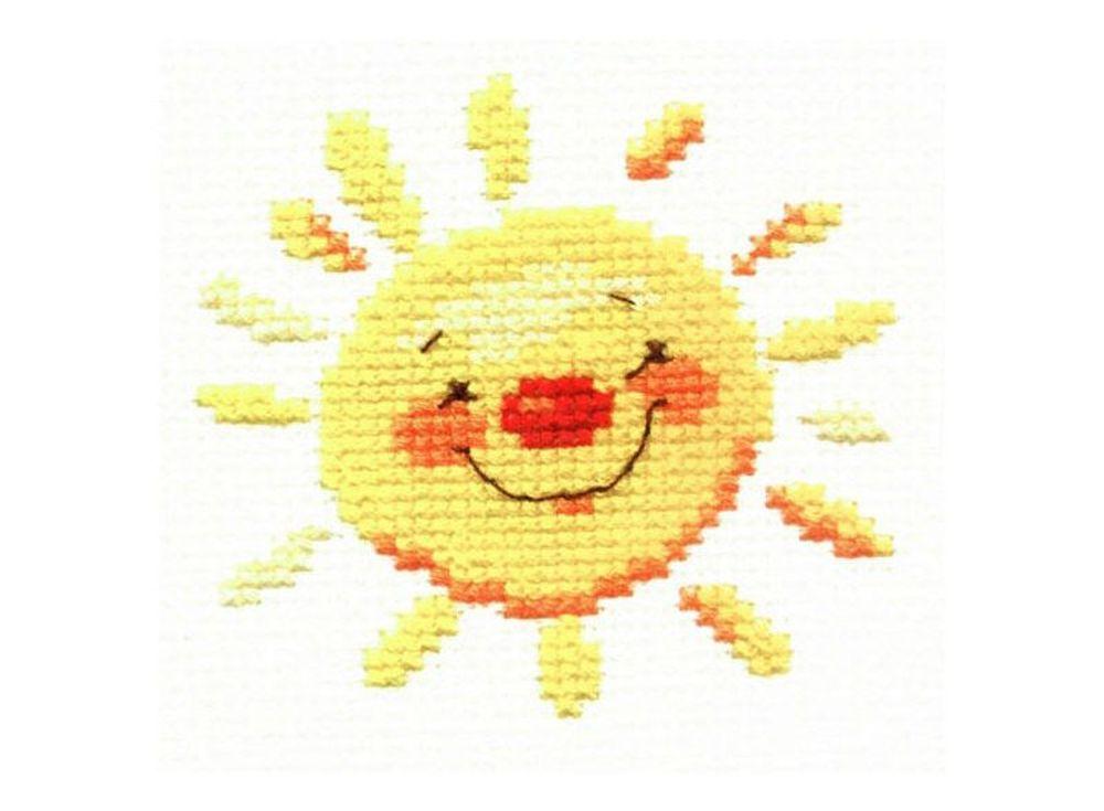 Набор для вышивания «Солнышко»Вышивка крестом Алиса<br><br><br>Артикул: 0-24<br>Основа: канва Aida 14 100% хлопок Gamma<br>Размер: 7x7 см<br>Тип схемы вышивки: Цветная схема<br>Цвет канвы: Белый<br>Количество цветов: 5<br>Рисунок на канве: не нанесён<br>Техника: Вышивка крестом<br>Нитки: мулине 100% хлопок Gamma