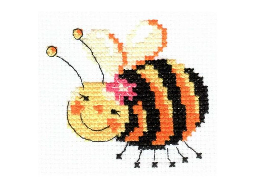 Набор для вышивания «Я лечу!»Вышивка крестом Алиса<br><br><br>Артикул: 0-44<br>Основа: канва Aida 11 100% хлопок Gamma<br>Размер: 8х8 см<br>Тип схемы вышивки: Цветная схема<br>Цвет канвы: Белый<br>Количество цветов: 5<br>Рисунок на канве: не нанесён<br>Нитки: мулине 100% хлопок Gamma