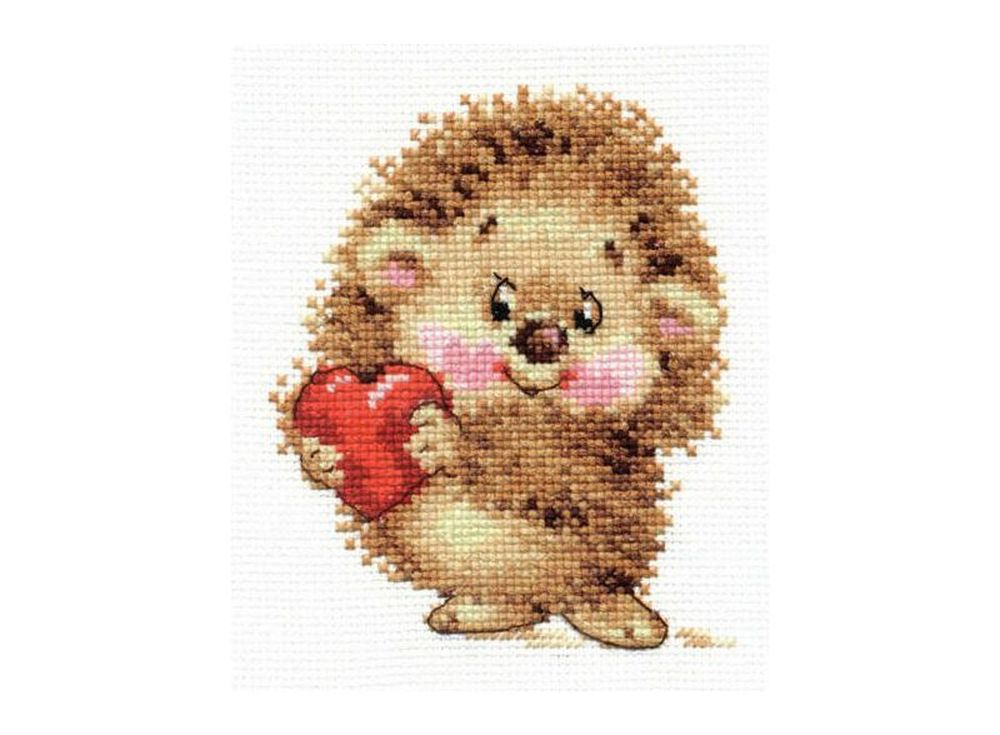 Набор для вышивания «Моя любовь»Вышивка крестом Алиса<br><br><br>Артикул: 0-91<br>Основа: канва Aida 14 100% хлопок Gamma<br>Размер: 10х12 см<br>Тип схемы вышивки: Цветная схема<br>Цвет канвы: Белый<br>Количество цветов: 12<br>Рисунок на канве: не нанесён<br>Техника: Вышивка крестом<br>Нитки: мулине 100% хлопок Gamma