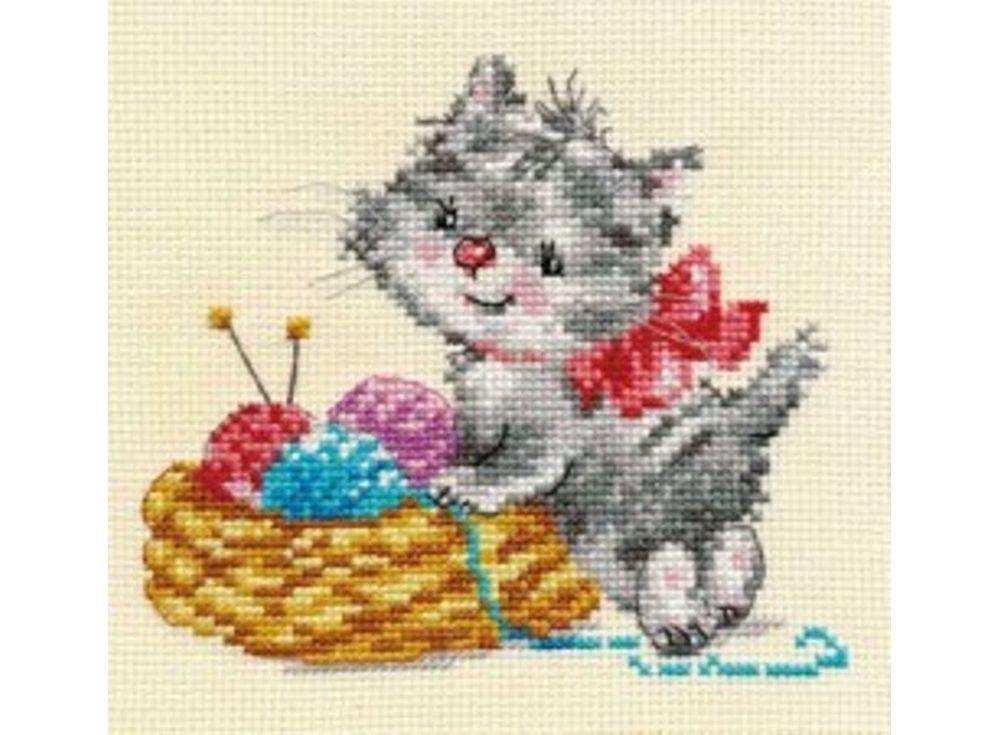 Набор для вышивания «Малышка-рукодельница»Вышивка крестом Алиса<br><br><br>Артикул: 0-97<br>Основа: канва Aida 14 100% хлопок Gamma<br>Размер: 13х12 см<br>Тип схемы вышивки: Цветная схема<br>Цвет канвы: Кремовый<br>Количество цветов: 15<br>Рисунок на канве: не нанесён<br>Техника: Вышивка крестом<br>Нитки: мулине 100% хлопок Gamma