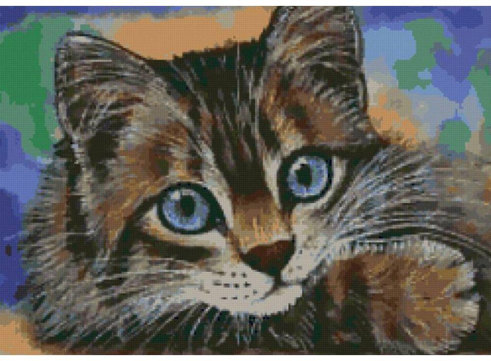 Набор для вышивания «Игривый котенок»Color KIT<br><br>