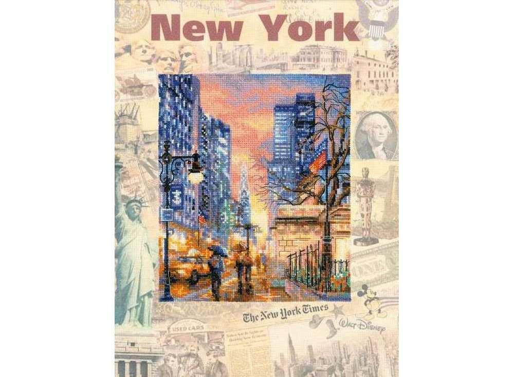 Набор для вышивания «Города мира. Нью-Йорк»Вышивка крестом Риолис<br><br><br>Артикул: 0025 РТ<br>Основа: канва 14 Aida Zweigart с нанесенным фоном<br>Размер: 30x40 см<br>Техника вышивки: счетный крест<br>Серия: Риолис (Сотвори Сама)<br>Тип схемы вышивки: Цветная схема<br>Цвет канвы: Нанесенный фон<br>Количество цветов: 29<br>Художник, дизайнер: Алина Мелентьева<br>Заполнение: Частичное<br>Рисунок на канве: нанесён фон<br>Техника: Вышивка крестом