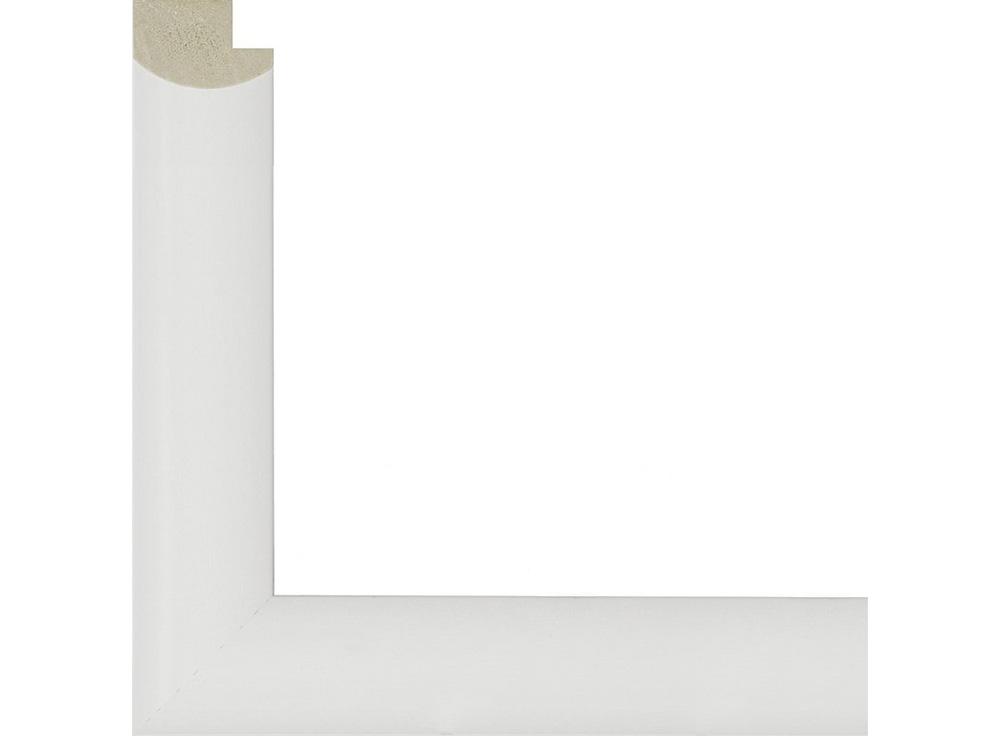 Рамка без стекла для картин «Bella»Багетные рамки<br>Для картин на картоне, картин на холсте, алмазной вышивки. В комплект входит: рамка, задняя подложка, крючок-вешалка. Стекло в комплект не входит. При необходимости приобретайте стекло отдельно.<br><br>Артикул: 0090-15-0001<br>Размер: 30x40 см<br>Цвет: Белый<br>Ширина: 20<br>Материал багета: Дерево