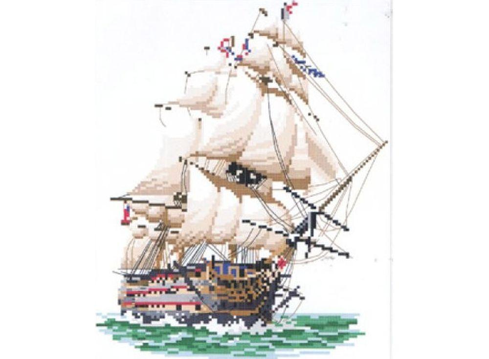 Набор для вышивания «Корабль»
